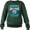 Stop Animal Abuse - Sweatshirt - forest green