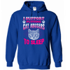 Hoodie - CAT ABUSERS TO SLEEP