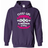 Every Girl Shoudl Have Two Things Hoodie