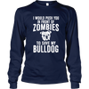 Zombie Bulldog - Long Sleeve - True Best Friend
