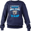 Stop Animal Abuse - Sweatshirt - navy blue