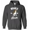 Hoodie - BEAGLE MOM - True Best Friend