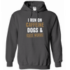 Caffeine Dogs and Cuss Words - Hoodie - True Best Friend