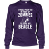 Zombie Beagle - Long Sleeve - True Best Friend