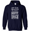 Hoodie - HAPPY WITH DOGS