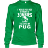 Zombie Pug - Long Sleeve