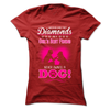 Dogs Are A Girls Best Friend - T-Shirt - True Best Friend
