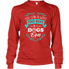 Find Hope In A Dog's Eyes - Long Sleeve