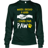 I Found Your Paw - Long Sleeve - True Best Friend