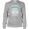Character Compassion Loyalty - Long Sleeve