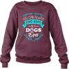 Find Hope In A Dogs Eyes - Sweatshirt - True Best Friend
