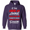 If You Abuse An Animal That Says All