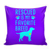 Pillow Cover - Rescued - True Best Friend