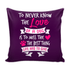 Pillow Cover - Love of a Dog - True Best Friend