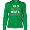 Caffeine Dogs and Cuss Words - Long Sleeve