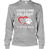 I Gave A Dog My Heart - Long Sleeve