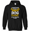 Stay At Home Dog Parent Hoodie - True Best Friend