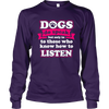 Dogs Do Speak - Long Sleeve - True Best Friend