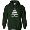 Paw Christmas Tree Hoodie - True Best Friend