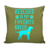 Pillow Cover - Rescued
