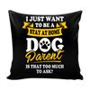 Pillow Cover - Stay At Home - True Best Friend