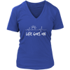 Life Goes On - Ladies V-Neck - True Best Friend
