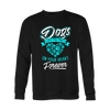 Dog Leave Paw Prints on Your Heart - Sweatshirt