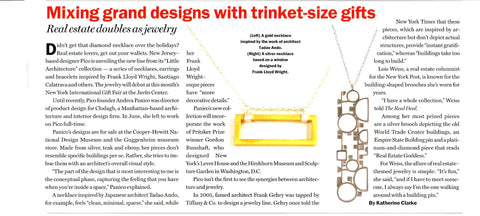 New York Real Estate News | Mixing Gran Designs with trinket-size gifts