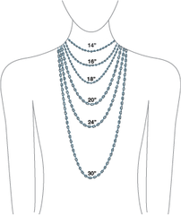 Pico Design Andrea Panico Necklace Lengths