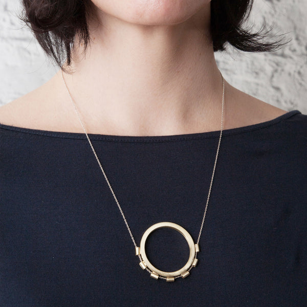 Encircled Necklace on Woman