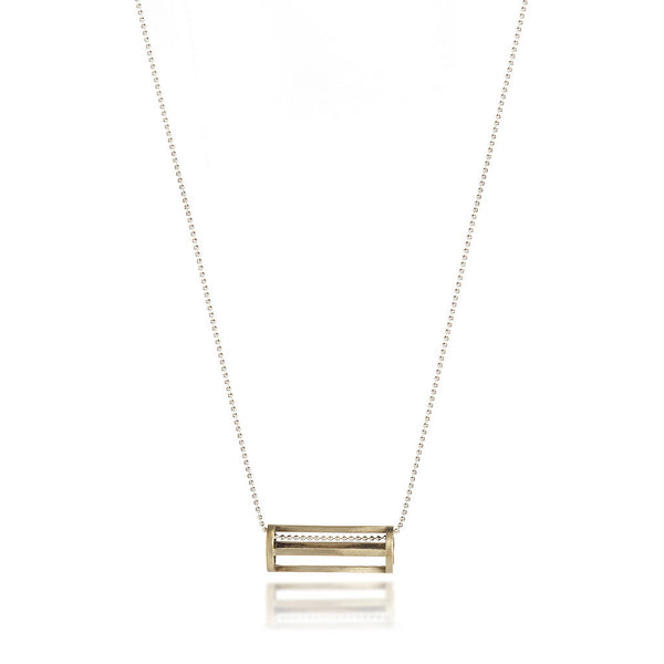 Cylinder Necklace