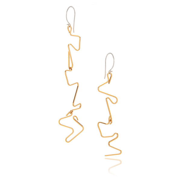 Miro Miro Earrings, Gold Filled