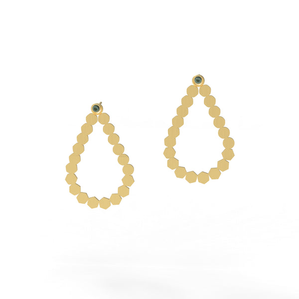 Shift Teardrop Earrings