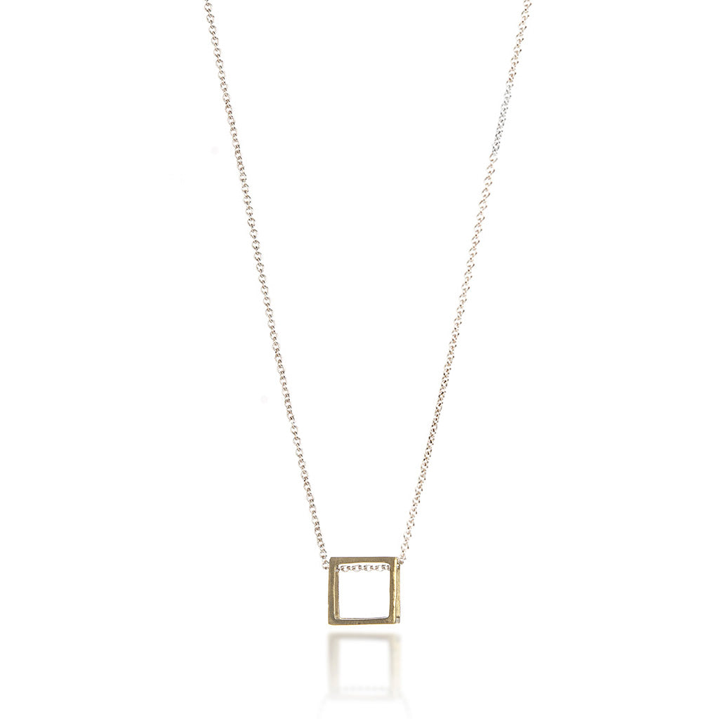 Single Cube Necklace