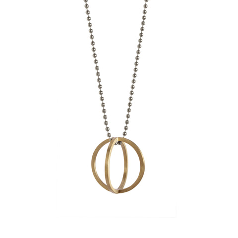Single Sphere Necklace