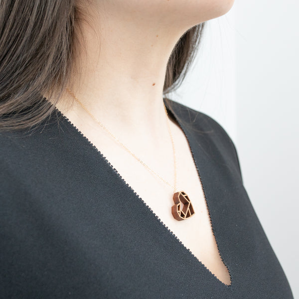 Pico Design Laser Cut Heart Pendant