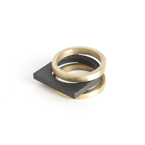 north tower ring set