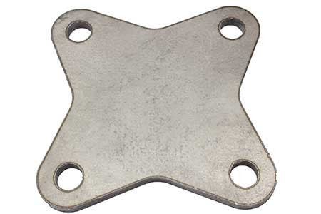 Oval Mounting Plate (4 Hole)