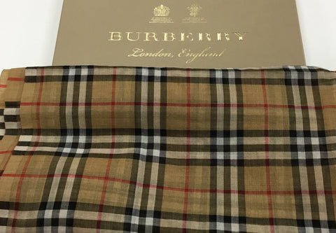 Burberry Fashion Scarf. Rank 5