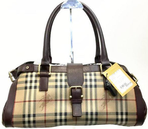 Burberry Haymarket Shoulder Handbag No. ITTIVGR058CAL