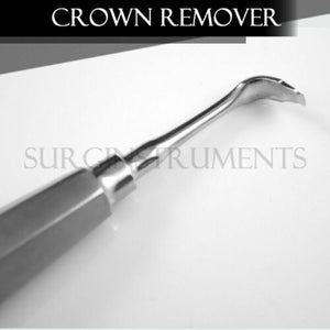 Christensen Crown Remover, 90 Degree Angled Hexagon Hdl. CRCH2 Dental Medical