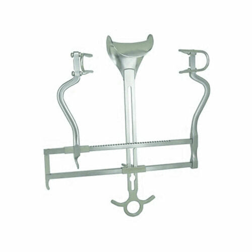 Balfour Retractor W/Ratchet Bar Surgical Instruments 10""
