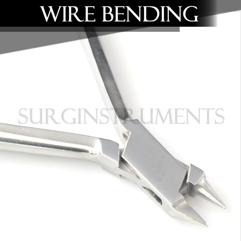 Angle Wire Bending Pliers - O.R. Grade Dental Orthodontic Surgical Instruments