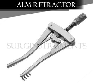 "ALM Retractor 3 7/8"" Spread 3"", Prongs 1/2"" Deep"