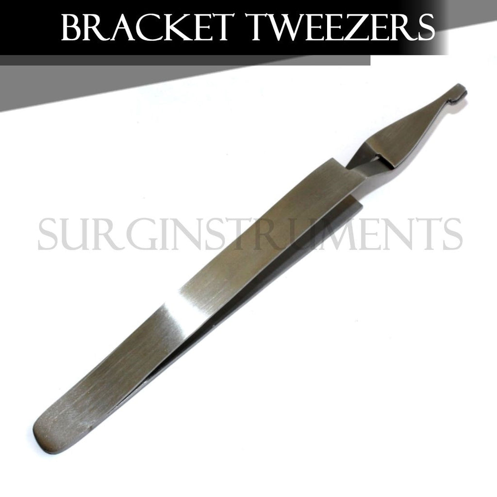 WIDE Bracket Removing / Placing Tweezers Pliers Orthodontic Dental Instruments