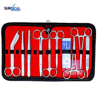 10 pcs Student Minor Surgery Kit Set Surgical Instruments Stainless Steel