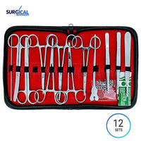 12 Sets 24 US Military Field Style Medic Instrument Kit - Medical Surgical Nurse