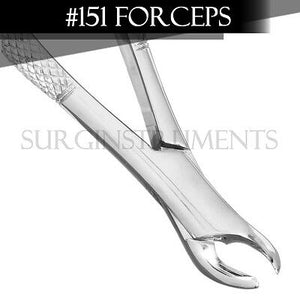 3 Extracting Forceps Dental Surgical Instruments #151