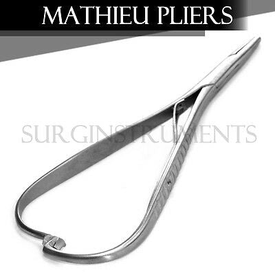 "2 Mathieu Plier 5.50"" Orthodontic Surgical Dental Instruments - 5.5"" 5.5"