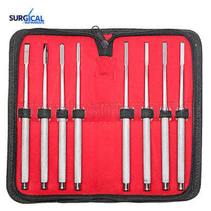 Bone Chisels set of 8 pc. Surgical & Dental Instruments